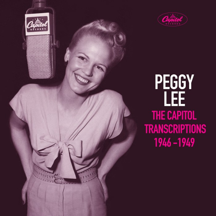 Peggy Lee, The Capitol Transcriptions