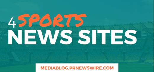 4 Sports News Sites - mediablog.prnewswire.com