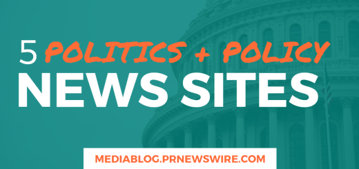 5 Politics and Policy News Sites - mediablog.prnewswire.com