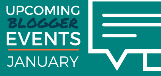 Upcoming Blogger Events - January
