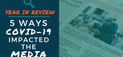 Year in Review: 5 Ways COVID-19 Impacted the Media