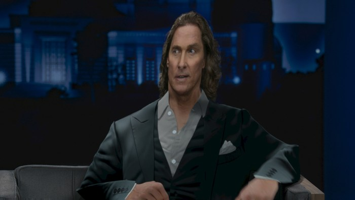Doritos Super Bowl LV Campaign Starring Matthew McConaughey as #FlatMatthew