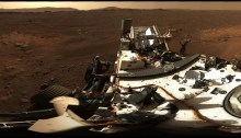 NASA Perseverance rover Jezero Crater panorama photo