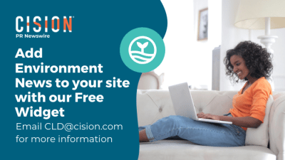 Add Environment News to your site with our Free Widget - email CLD@cision.com