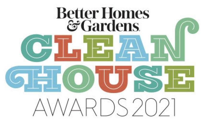 Better Homes & Gardens Clean House Awards 2021 logo
