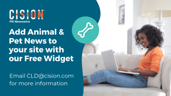 Add animal and pet news to your site with our free widget - email cld@cision.com