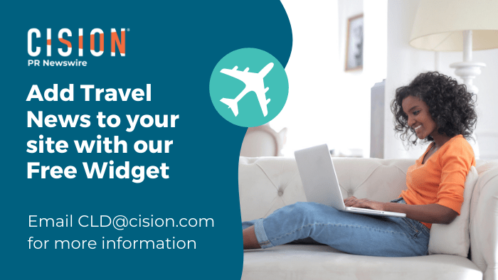 Add Travel News to your site with our Free Widget - Email cld@cision.com