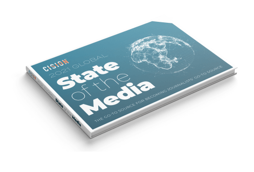 Cision 2021 Global State of the Media Report booklet