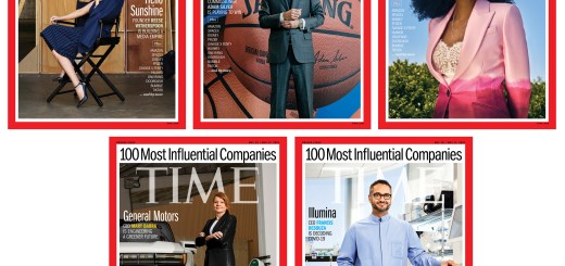 2021 TIME100 Most Influential Companies magazine covers