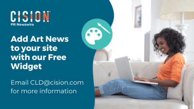 Add art news to your site with free widget - email cld@csion.com