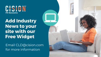 Add industry news your site with our free widget. Email cld@cision.com.