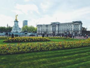 Photo of Buckingham Palace in London, England