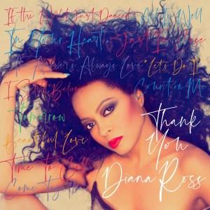 """Diana Ross """"Thank You"""" album cover"""