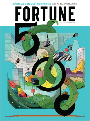 FORTUNE 500 2021 Issue Cover