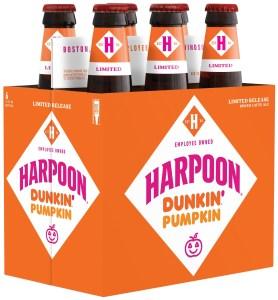 Harpoon Dunkin' Pumpkin Spiced Latte Ale six-pack