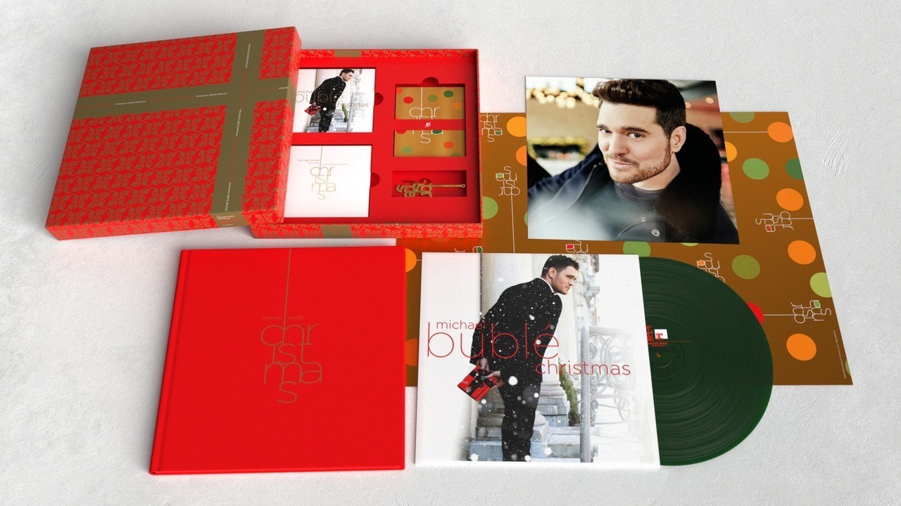 Michael Buble Christmas Super Deluxe Limited Edition Box Set