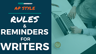 AP Style Rules and Reminders for Writers