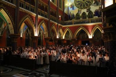 Vigília Pascal - Arautos do Evangelho - Basílica N. Sra. do Rosário de Fátima (9)