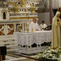 13-12-Messa Solenne per il arrivo della statua pellegrina