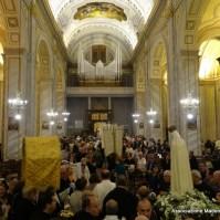 52-47-Inizio della fiaccolata a Quartu Sant Elena a Cagliari, Araldi del Vangelo