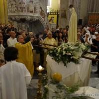81-81-Il saluto finale di Quartu Sant Elena alla Madonna di Fatima, benedetta dal Beato Giovanni Paolo II, Araldi del Vangelo