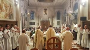 S.Messa del vicariato con l'offerta dell'olio della lampada mariana perpetua (2)
