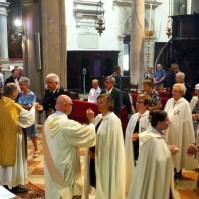 Celebrazione della Madonna del Carmine a Venezia.-011