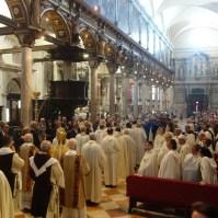 Celebrazione della Madonna del Carmine a Venezia.-013
