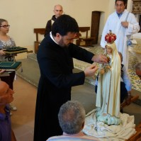 Madonna di Fatima, Pellegrina, Araldi del Vangelo, Parrocchia Santa Maria Assunta, Montemurro (PZ)-003