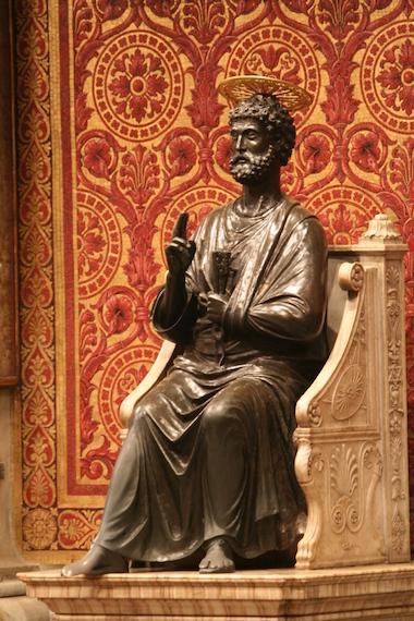 Italy Rome San Pietro Basilica