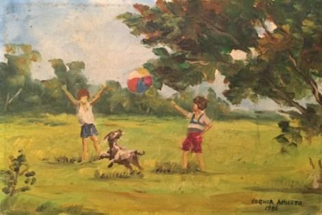 Pintura brincadeira