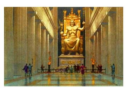 As Maravilhas do Mundo Antigo - A Estátua de Zeus