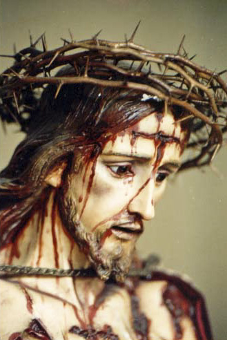 Nosso Senhor coroado de espinhos