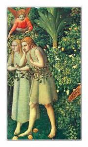 Adão e Eva Fra Angelico