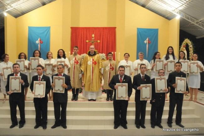 Consagração à Nossa Senhora nos Arautos do Evangelho (Recife - PE)