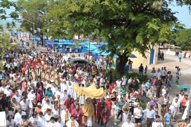 Procissão de Corpus Christi em Olinda