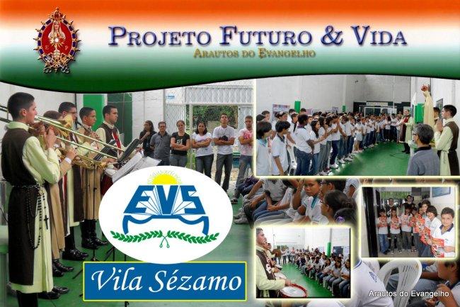 Projeto Futuro & Vida no Colégio Vila Sezamo, em Recife
