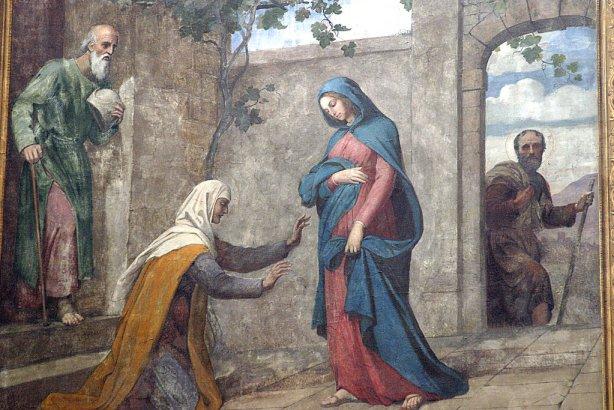 Visita a Santa Isabel (Igreja Notre Dame de Bordeaux)