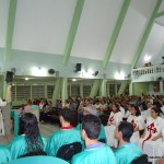 Missa na Paróquia de Peixinhos após a Missão dos Arautos do Evangelho