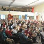 Debate durante o Curso de Férias dos Arautos do Evangelho
