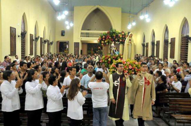 Missa de encerramento da Missão dos Arautos do Evangelho em Catende - PE