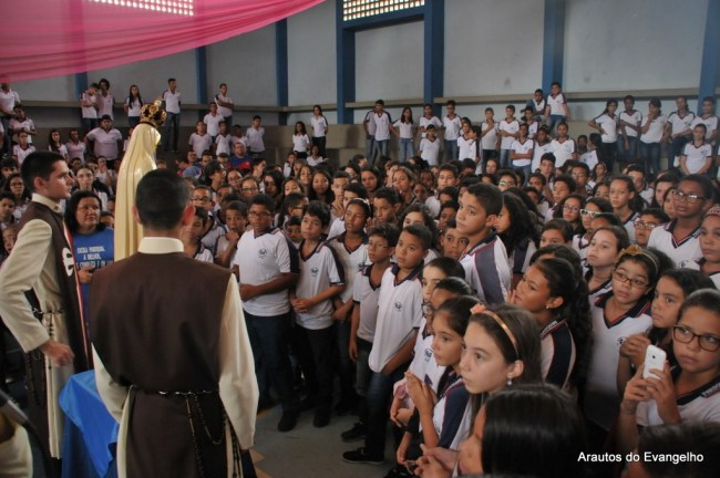 Projeto Futuro e Vida na Escola Paroquial Nossa Senhora de Fátima