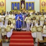 Consagração a Nossa Senhora - fiéis da Paróquia de Nossa Senhora de Fátima