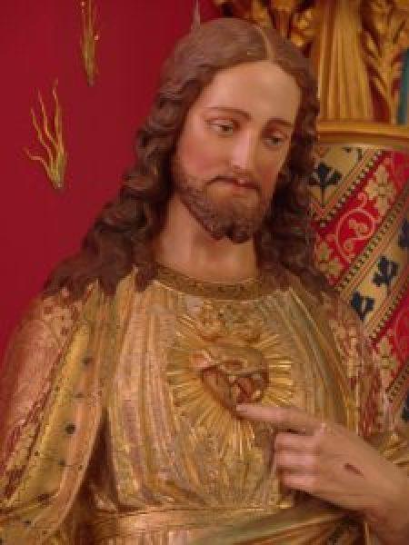 Sagrado Coração de Jesus - Monte Carmelo - foto: Ir Lívia Uchida, EP