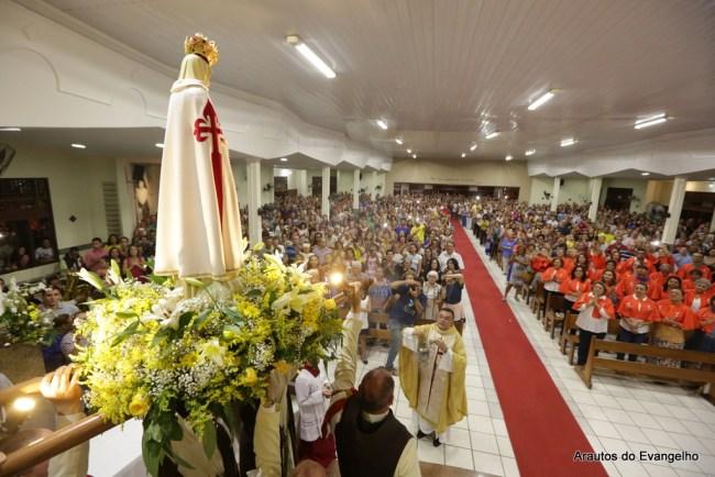 Visita da Imagem de Nossa Senhora de Fátima - Paróquia Nossa Senhora Aparecida - Natal