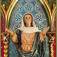 Detalhe em foto: Nossa Senhora da Ressurreição