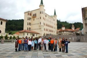 Peregrinação a igreja de Nossa Senhora do Rosário