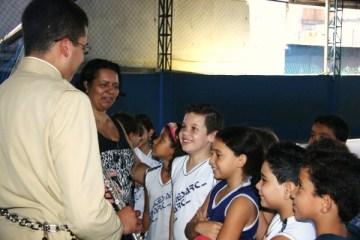 Projeto Futuro e Vida no Centro Educacional Santa Rita de Cássia - Vila Velha