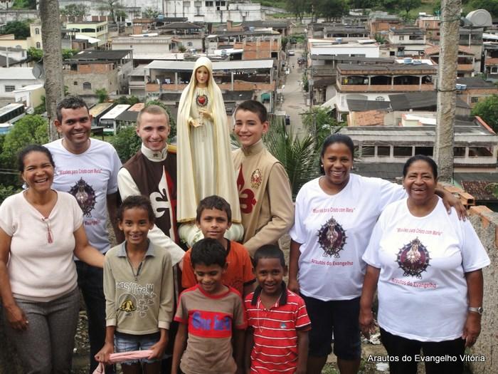 """""""Missões para Cristo com Maria"""" na Grande Vitória"""