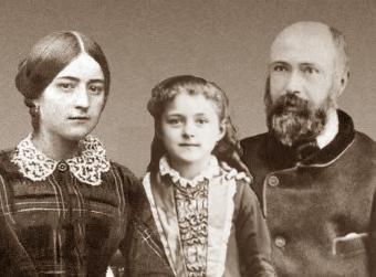 Zélia e Louis Martin, pais de Santa Teresinha d Menino Jesus - Beatificados em 2008